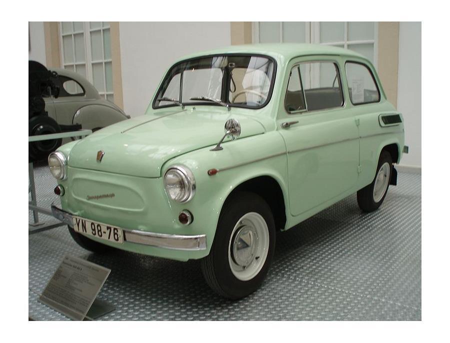 ЗАЗ-965 -  сошёл с конвейера в 1960 году. Всего было выпущено 322 166 автомобилей всех модификаций.