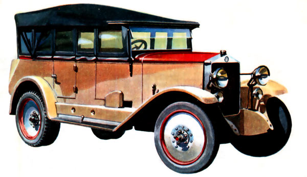 АМО-Ф15Ш, 1927 год
