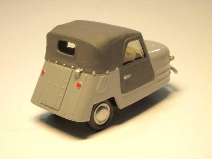 С-1Л - мотоколяска для инвалидов, 1952 год.