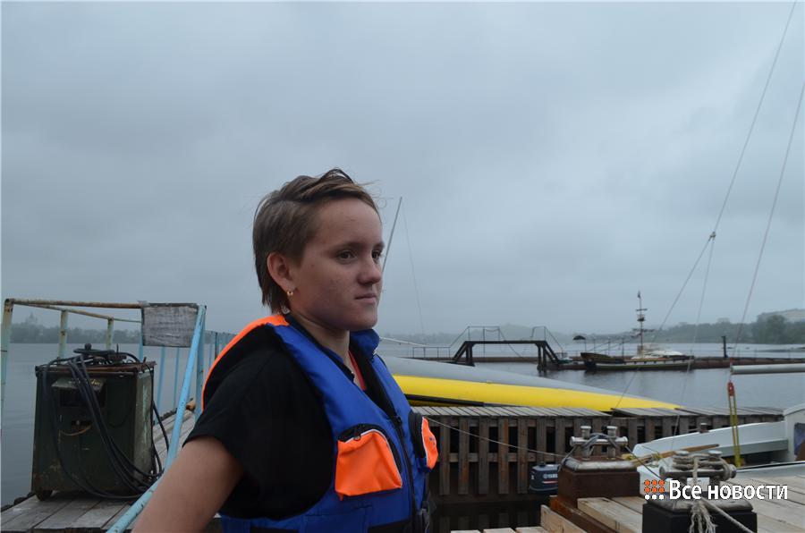 Командир 3-го экипажа Надежда Шилина
