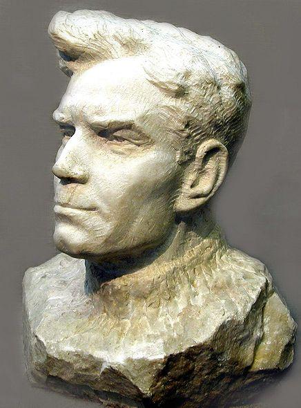 Стеканов В.И. «Портрет отца» (мрамор)