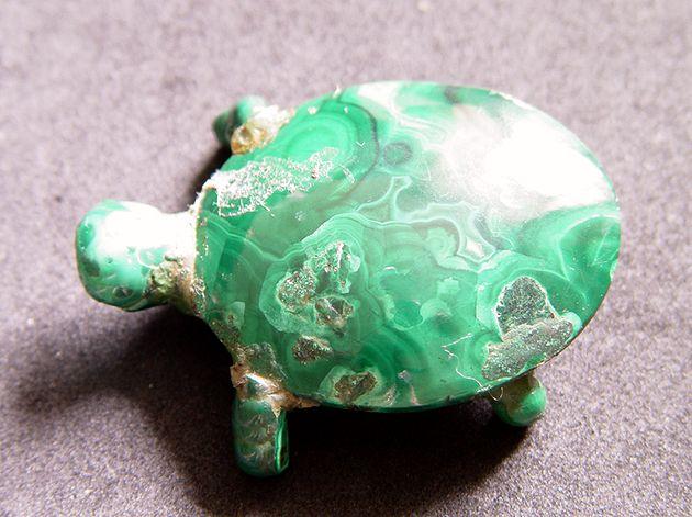 Стеканов В.И. «Черепаха» (малахит)