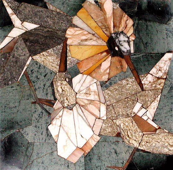 Стеканов В.И. «Турухтаны» (мозаика)