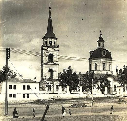 Входо-Иерусалимский Собор (фото начала XX в.)