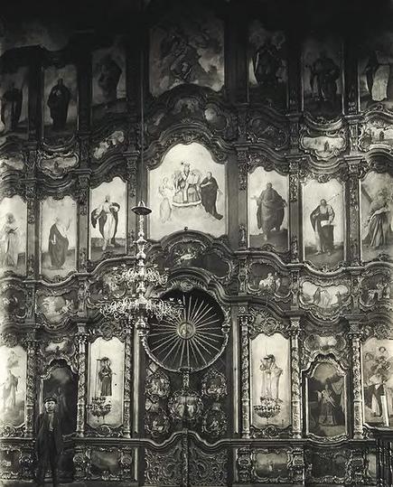 Иконостас Входо-Иерусалимской церкви (общий вид)