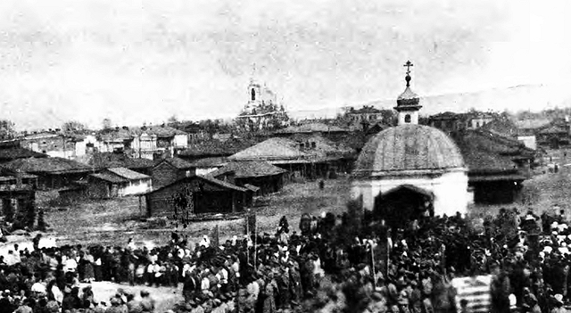 «Пермяковская» часовня (фото 1920 г.)