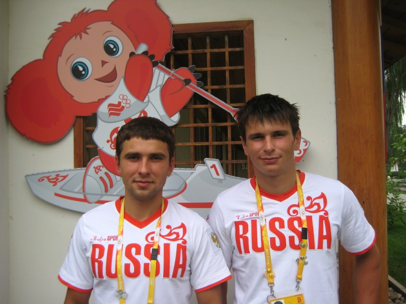 Михаил Кузнецов и Дмитрий Ларионов
