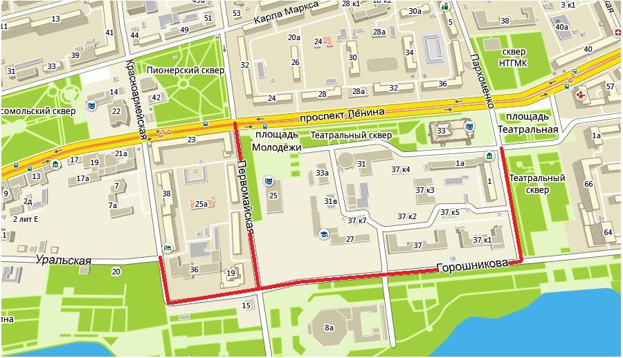 Перекрытие дорог 8 августа