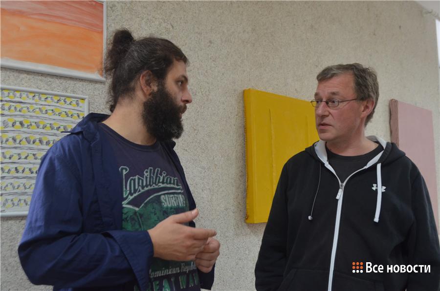 Леонид Харламов и Детлеф Шлагхек