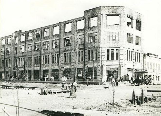 «Горелая гостиница» (фото 1936 г.)