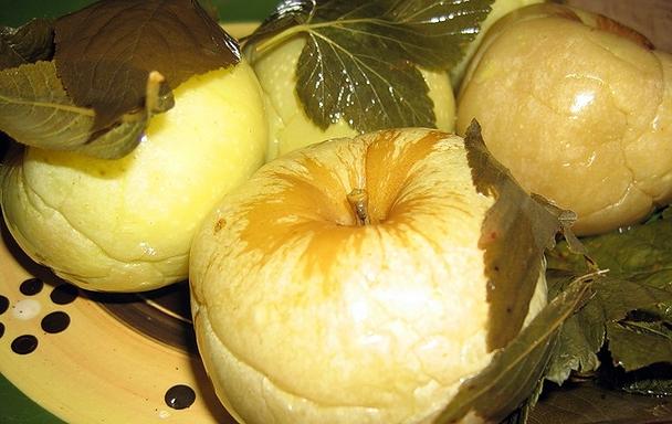 Мочение яблок в домашних условиях