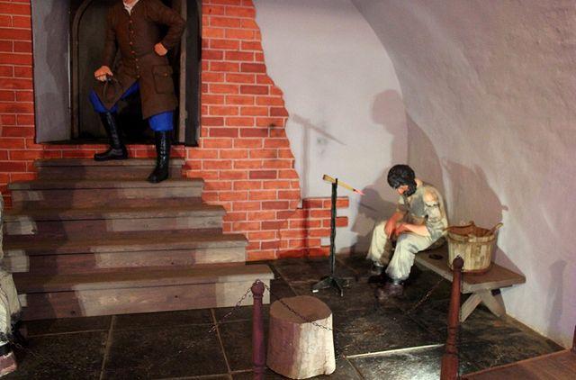 Инсталляция в Наклонной башне по мотивам невьянских легенд