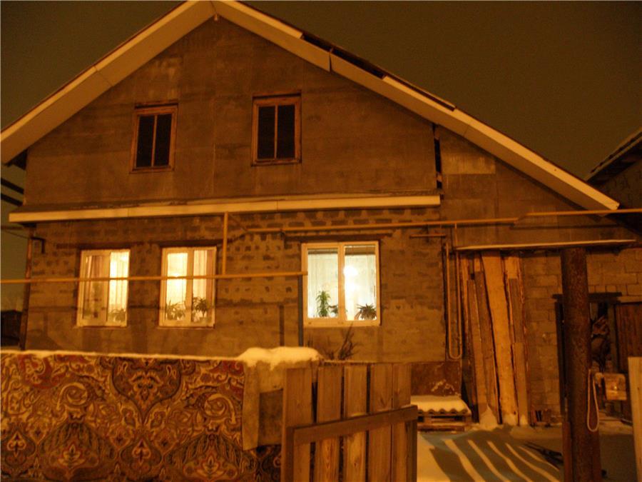 Дом, где произошло ЧП