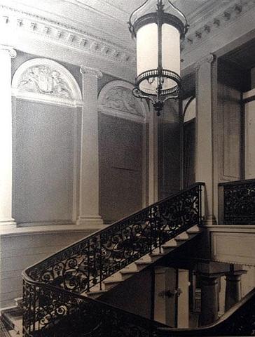 Дом №43 по ул. Большая Морская. Парадная лестница