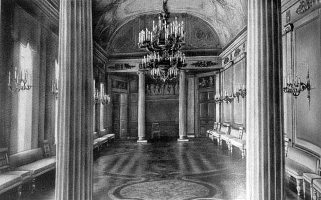 Дом №43 по ул. Большая Морская. Парадный зал