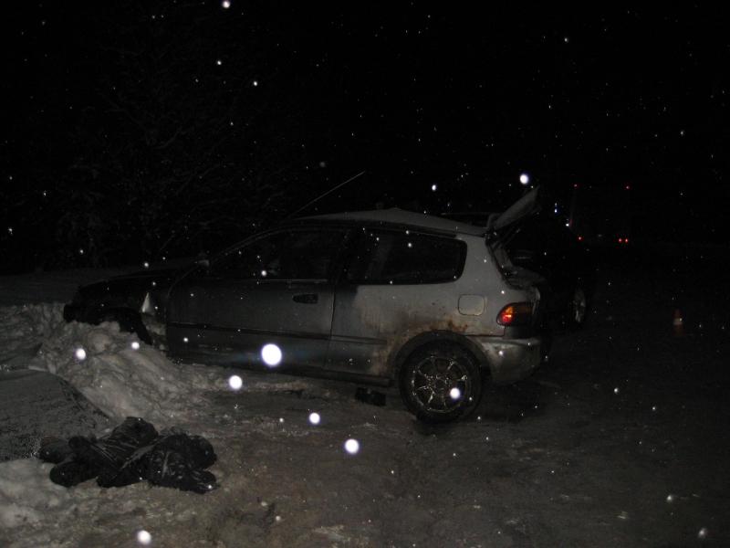Авария на Салдинской трассе 24 декабря