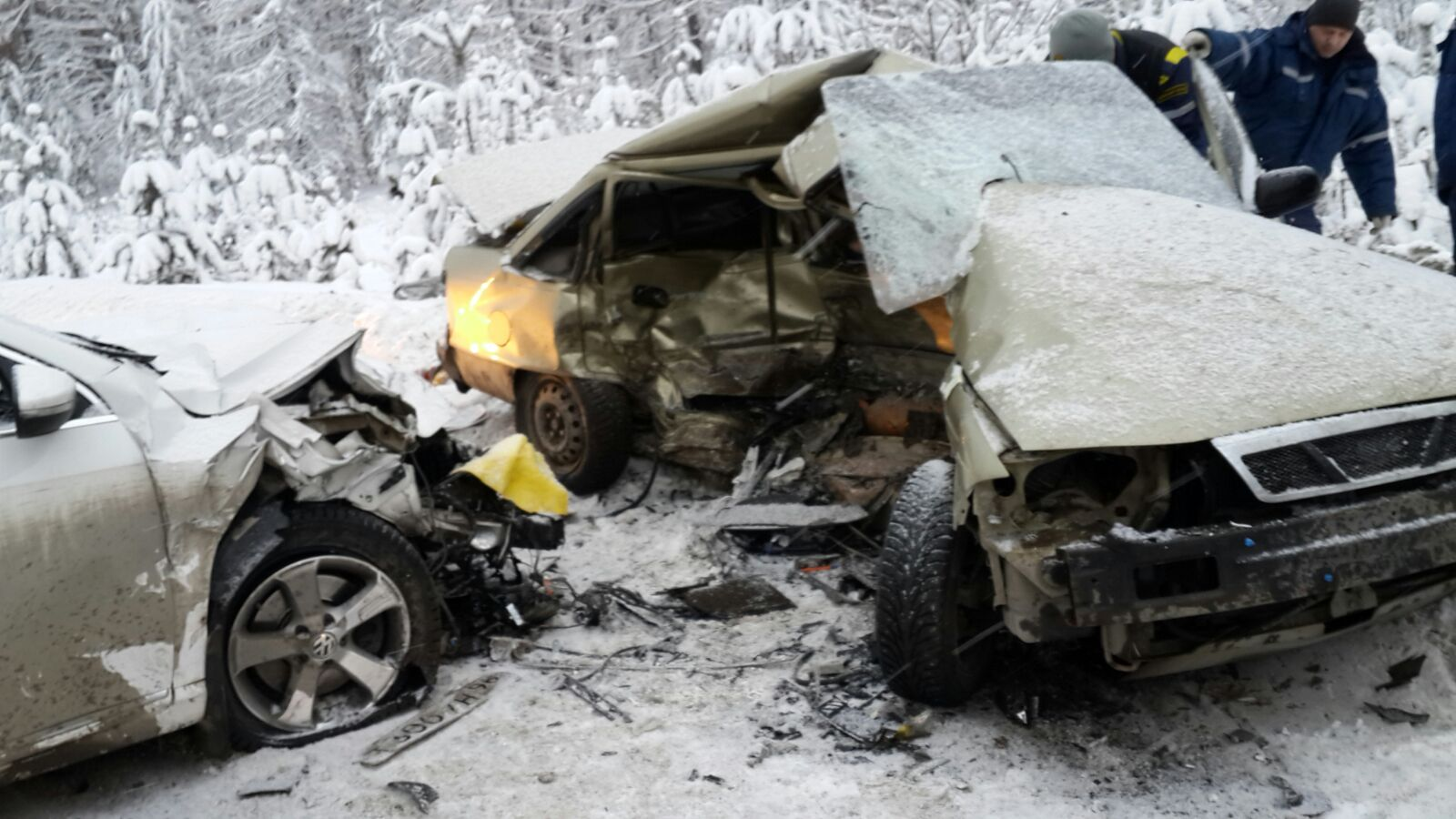Смертельная авария на автодороге Николо-Павловское - Алапаевск