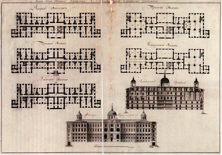 План здания (авт. И. И. Бецкий)