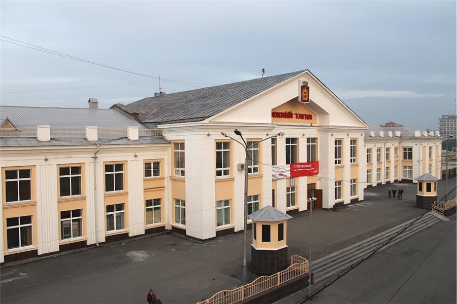 Вокзал, современное фото