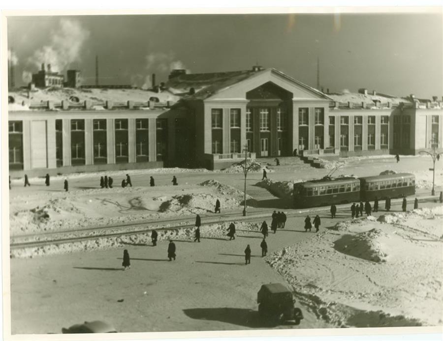 Вокзал Нижнего Тагила, 1966 год