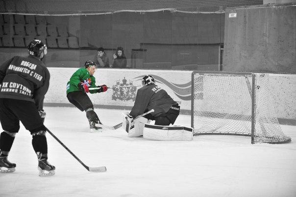 Последнее фото Сергея Симонова на льду. Оно было сделано на тренировке 5 января