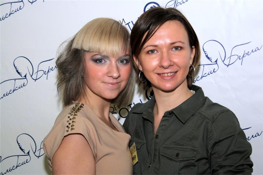 Анастасия Козловская с моделью