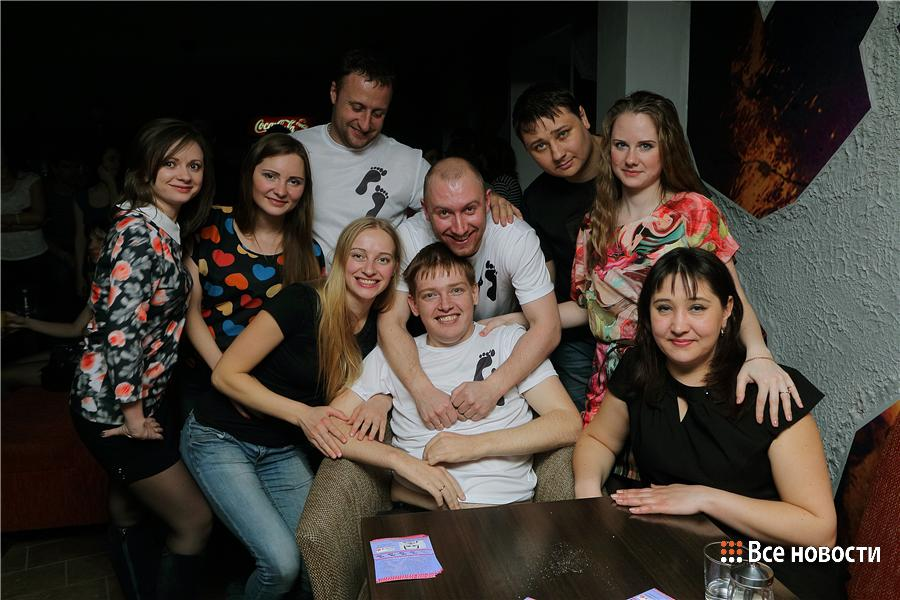 """Фото с первого концерта """"Шаг вперёд"""". Александр Коченков в центре"""