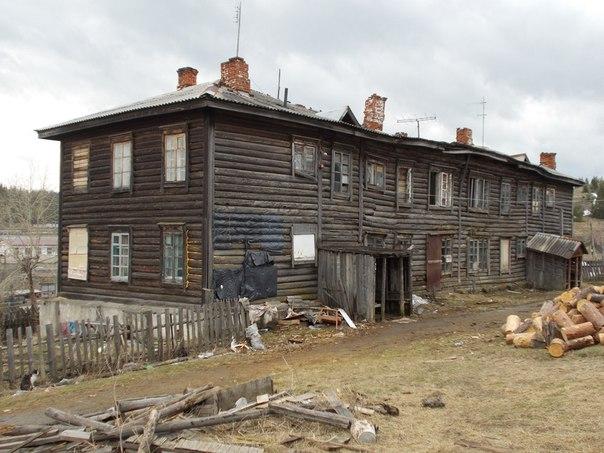 Барак в посёлке Уралец
