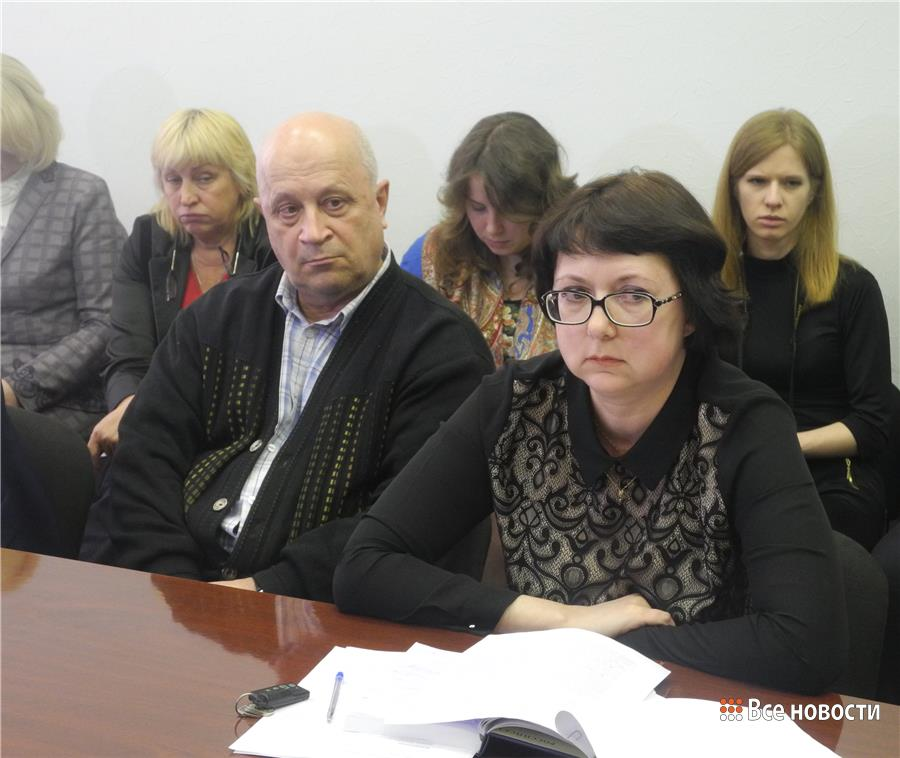 Борис Минеев и Ирина Татаринова
