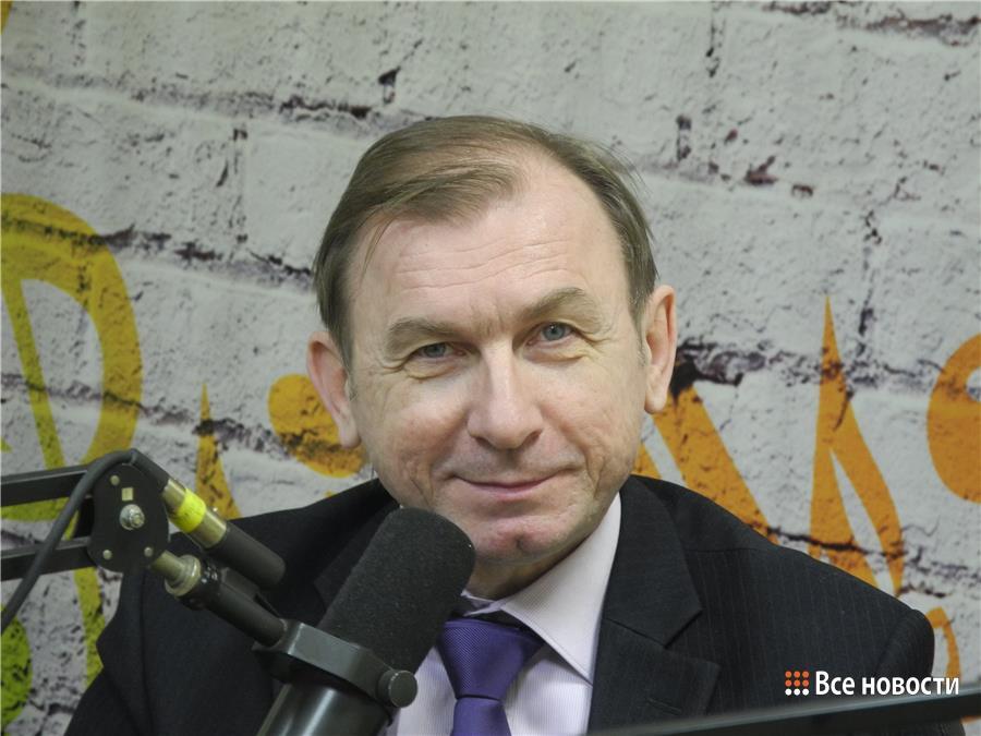 """Владимир Капкан в эфирной студии """"Экорадио"""""""
