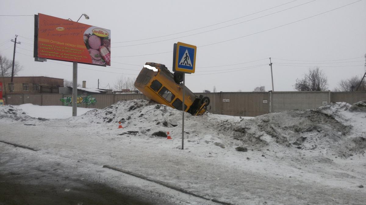 ДТП с пассажирской ГАЗелью2