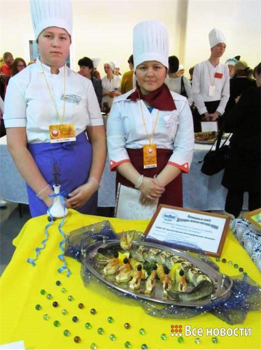 Банкетное блюдо «По щучьему веленью», 3 место