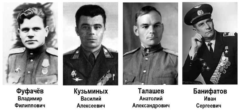 Курсанты и инструкторы Нижнетагильского аэроклуба – участники Великой Отечественной
