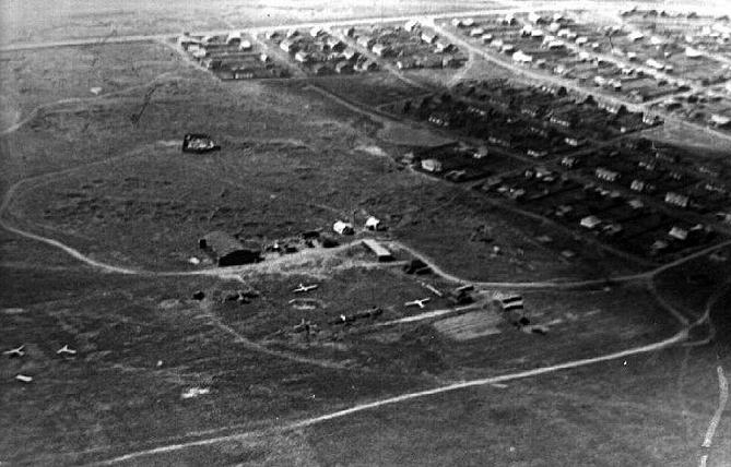 Аэродром ДОСAAФ на Гальянке (фото 1960-х гг.)