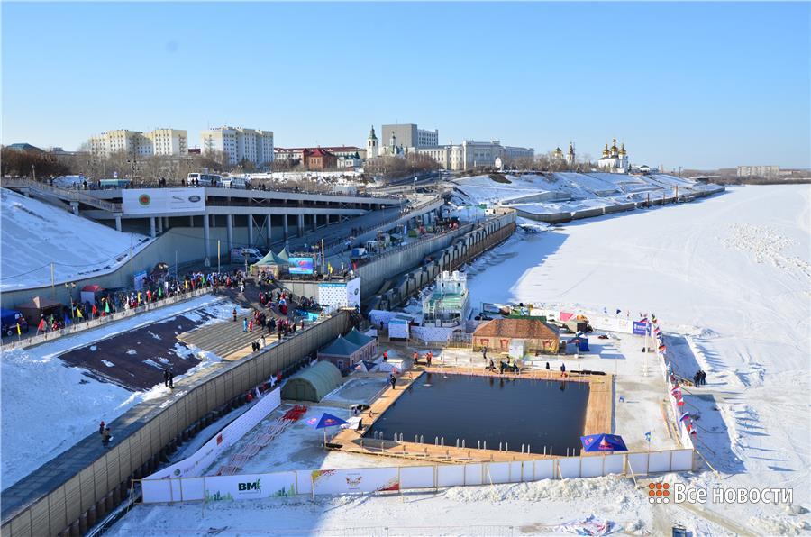 Тюмень принимает Чемпионат мира по зинему плаванию