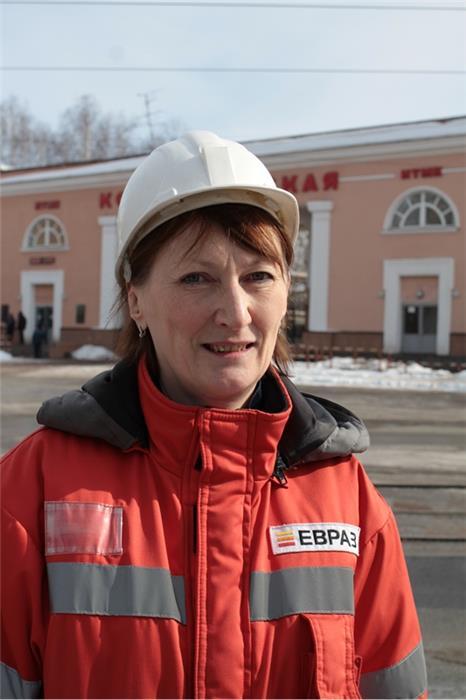 Вера Тагильцева, фото департамента по связям со СМИ ЕВРАЗа