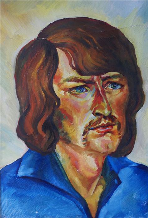 Автопортрет, 1978 г