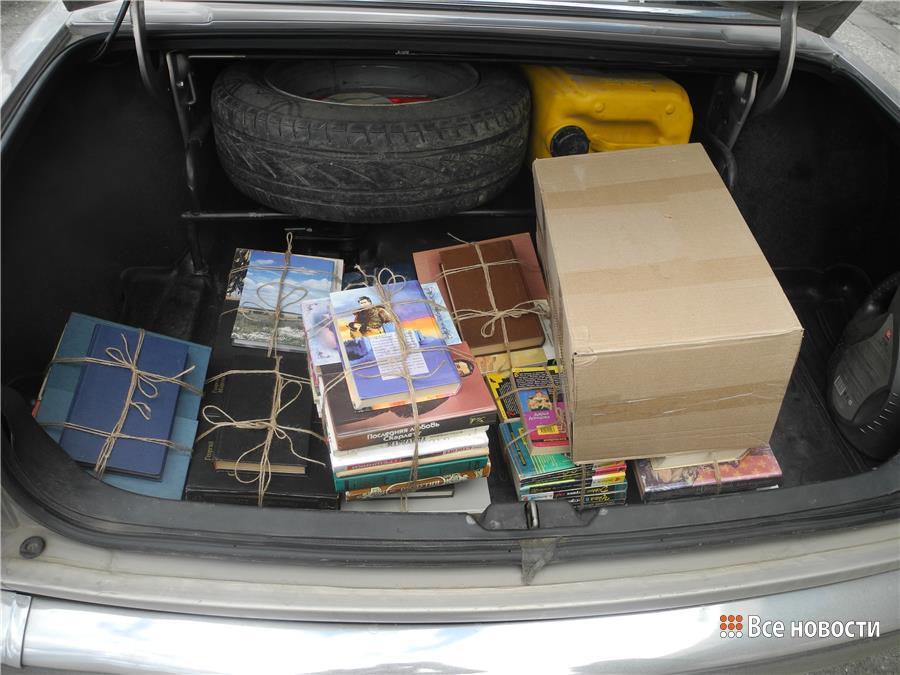 Книги, пожертвованные библиотекой НТИ (ф) УрФУ