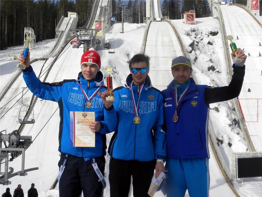 Тройка лидеров: Денис Корнилов, Ильмир Хазетдинов и Дмитрий Васильев