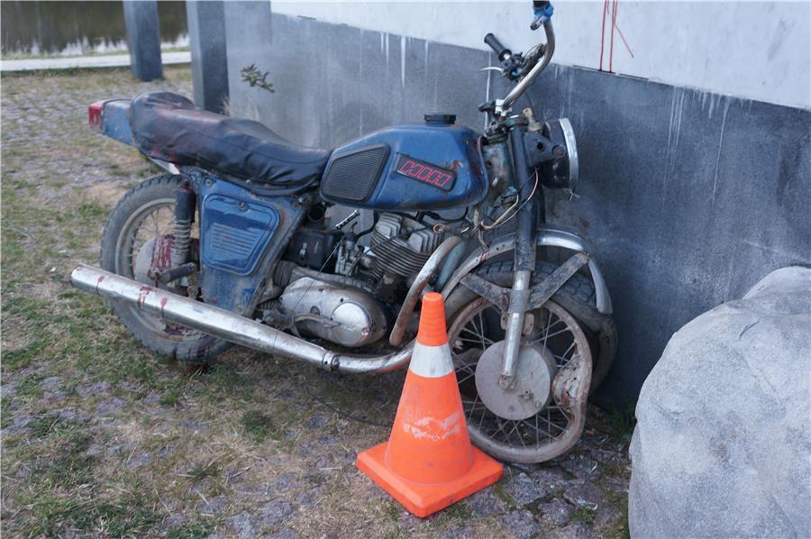 Мотоцикл крупно