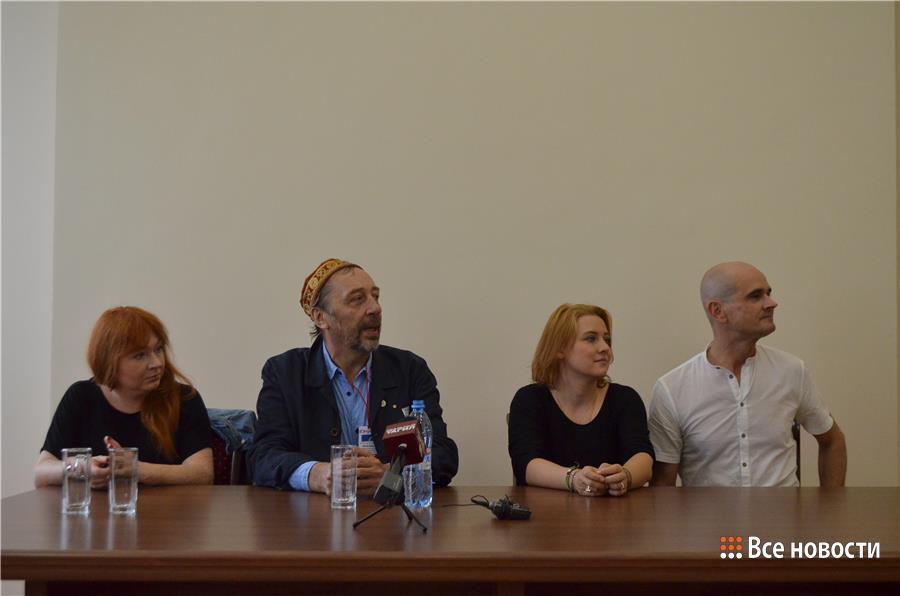 Пресс-конференция перед спектаклем