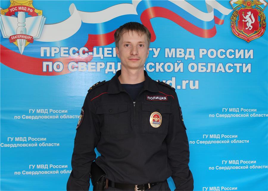 На фото - лучший участковый Нижнего Тагила Иван Паньшин