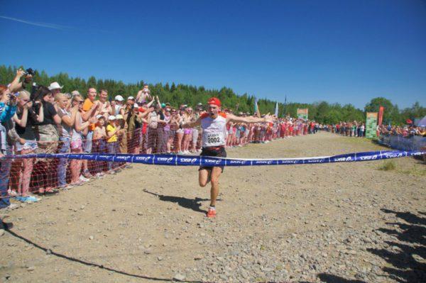 Евгений Марков на финише
