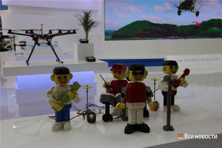 Выставка роботов в тагиле