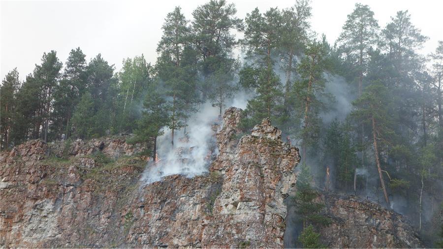 Пожар на Оленем камне