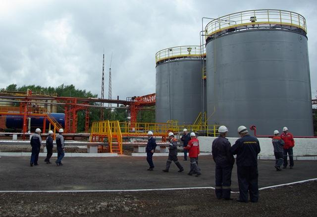 Станция налива сырого бензола