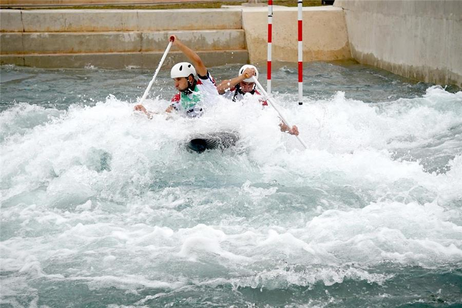 «Золото» Олимпийских игр вгребном слаломе завоевали словаки ииспанка