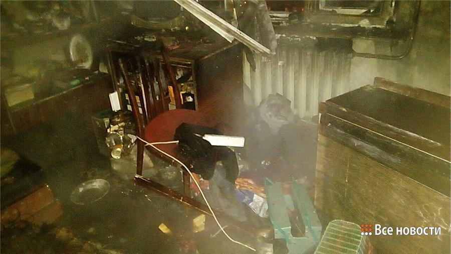 ВНижнем Тагиле впожаре вквартире сгорели мать идочь
