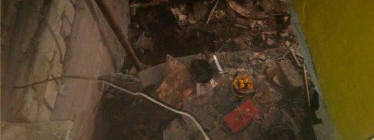 «Злоумышленники утащили подпорную стенку». Кто виноват, что рушится дом?