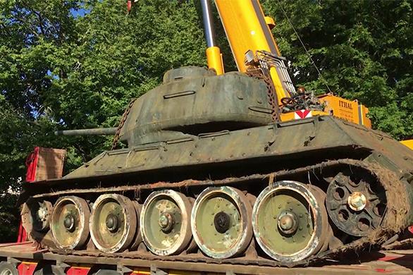 Эстонец спас последний Т-34, участвовавший вовстрече наЭльбе